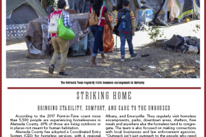<strong>Read our latest newsletter for an in-depth look at street outreach</strong>